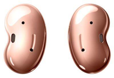 Słuchawki SAMSUNG Galaxy Buds Live Miedziany SM-R180NZNAEUE. > DARMOWA DOSTAWA ODBIÓR W 29 MIN DOGODNE RATY
