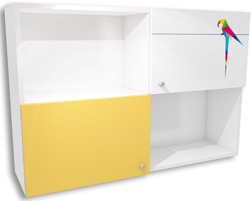 Dziecięca szafka wisząca Elif 17X - 5 kolorów