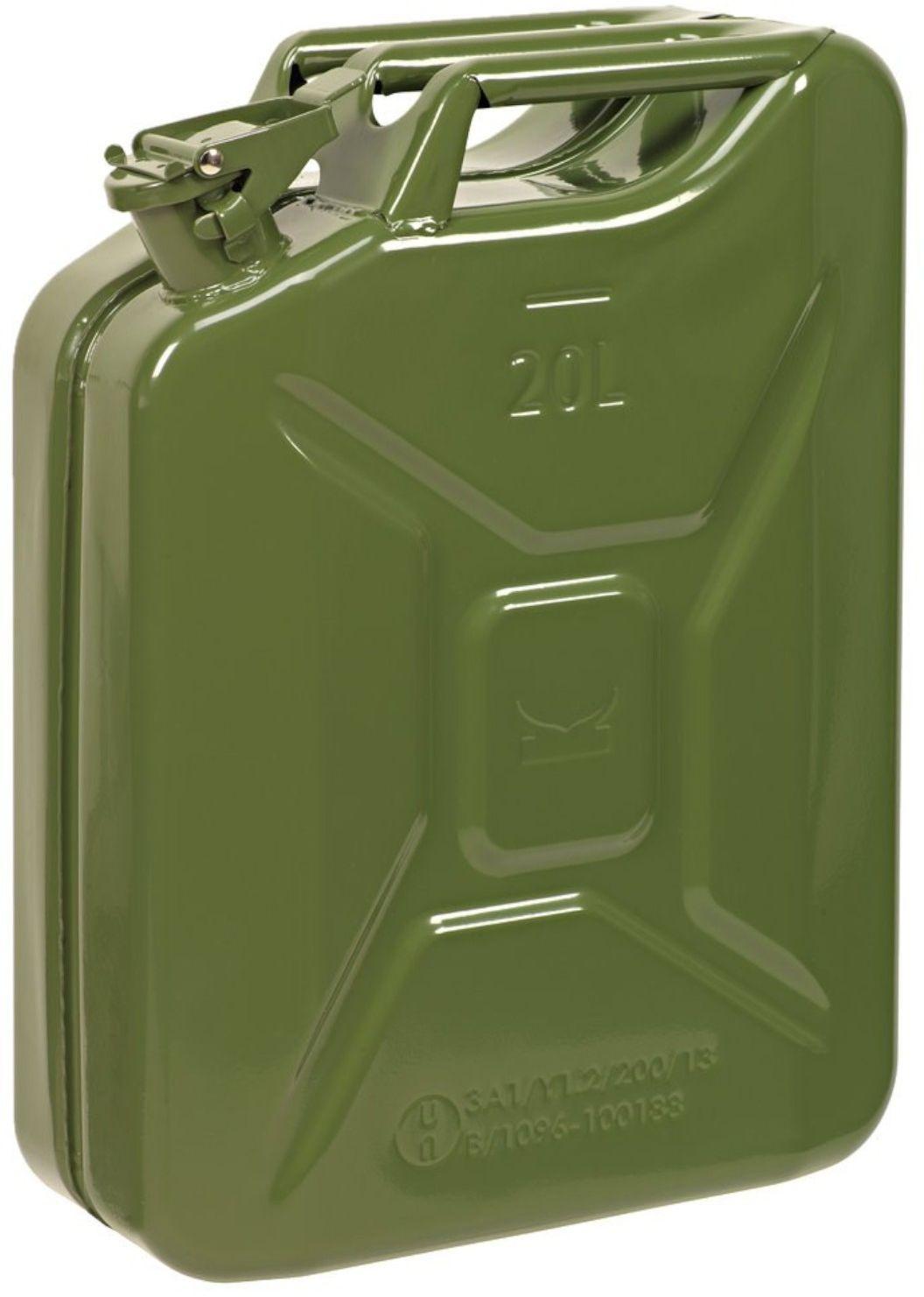 Kanister metalowy 20 l RAL- Certyfikat UN