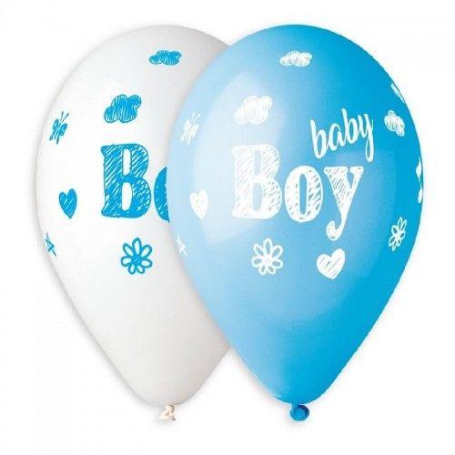 Balony Premium Baby Boy, 5 szt.
