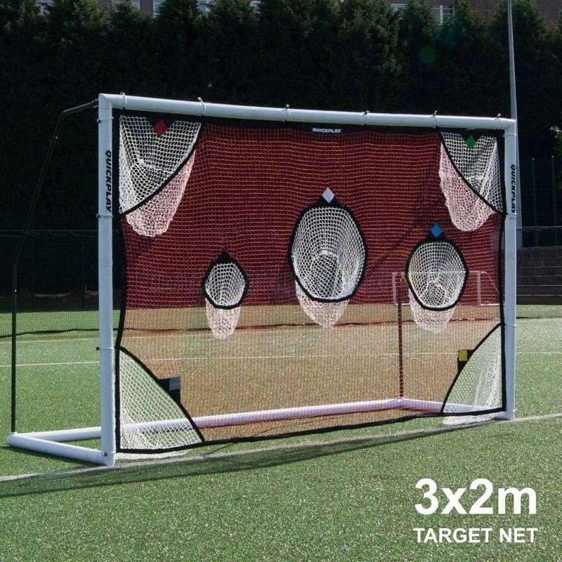 Mata do treningu celności Quickplay bramka piłkarska 3 x 2 m