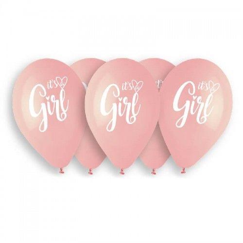 Balony Premium It''s a Girl, 5 szt.