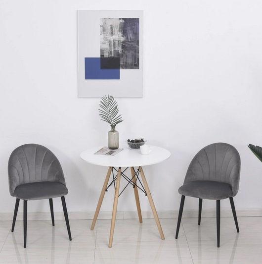Krzesła zestaw do jadalni biura kuchni poczekalni