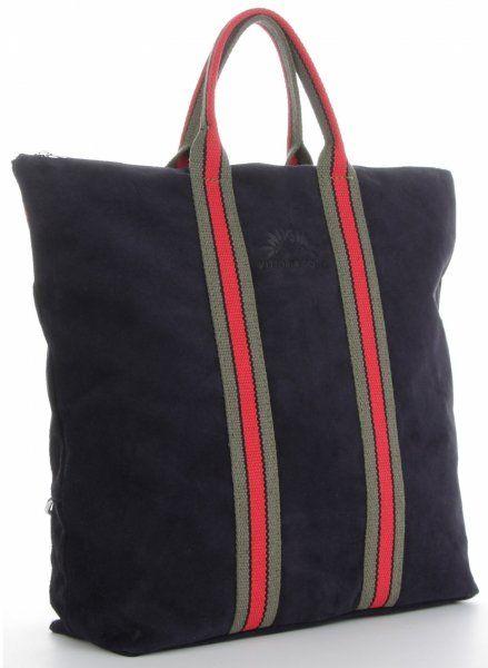 Torebki Skórzane ShopperBag renomowanej firmy VITTORIA GOTTI Granatowe (kolory)