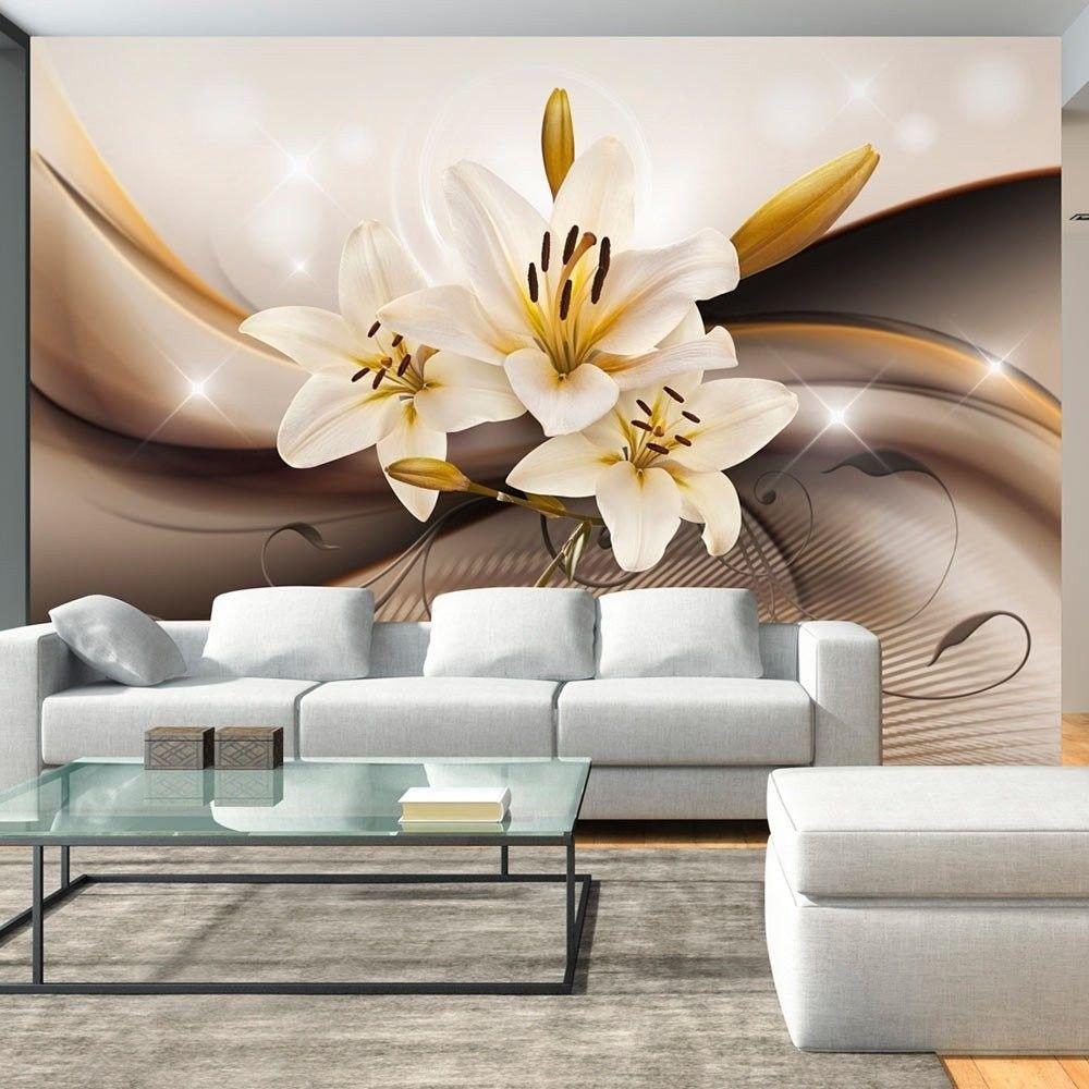 Fototapeta - złota lilia