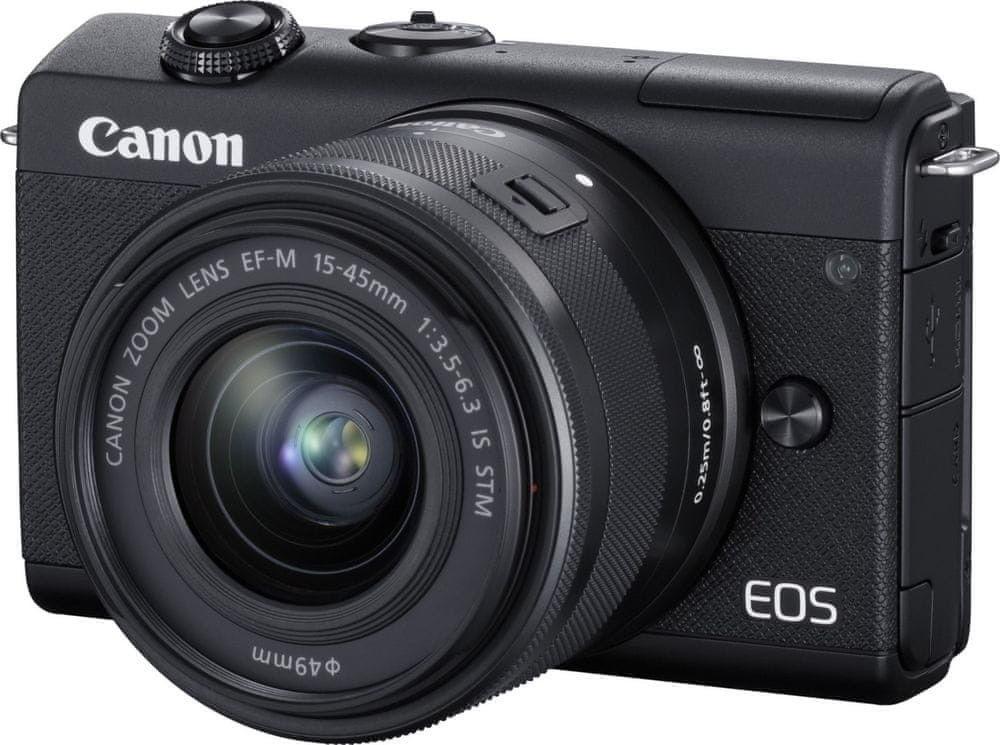 Canon EOS M200+EF-M 15-45mm STM Czarny