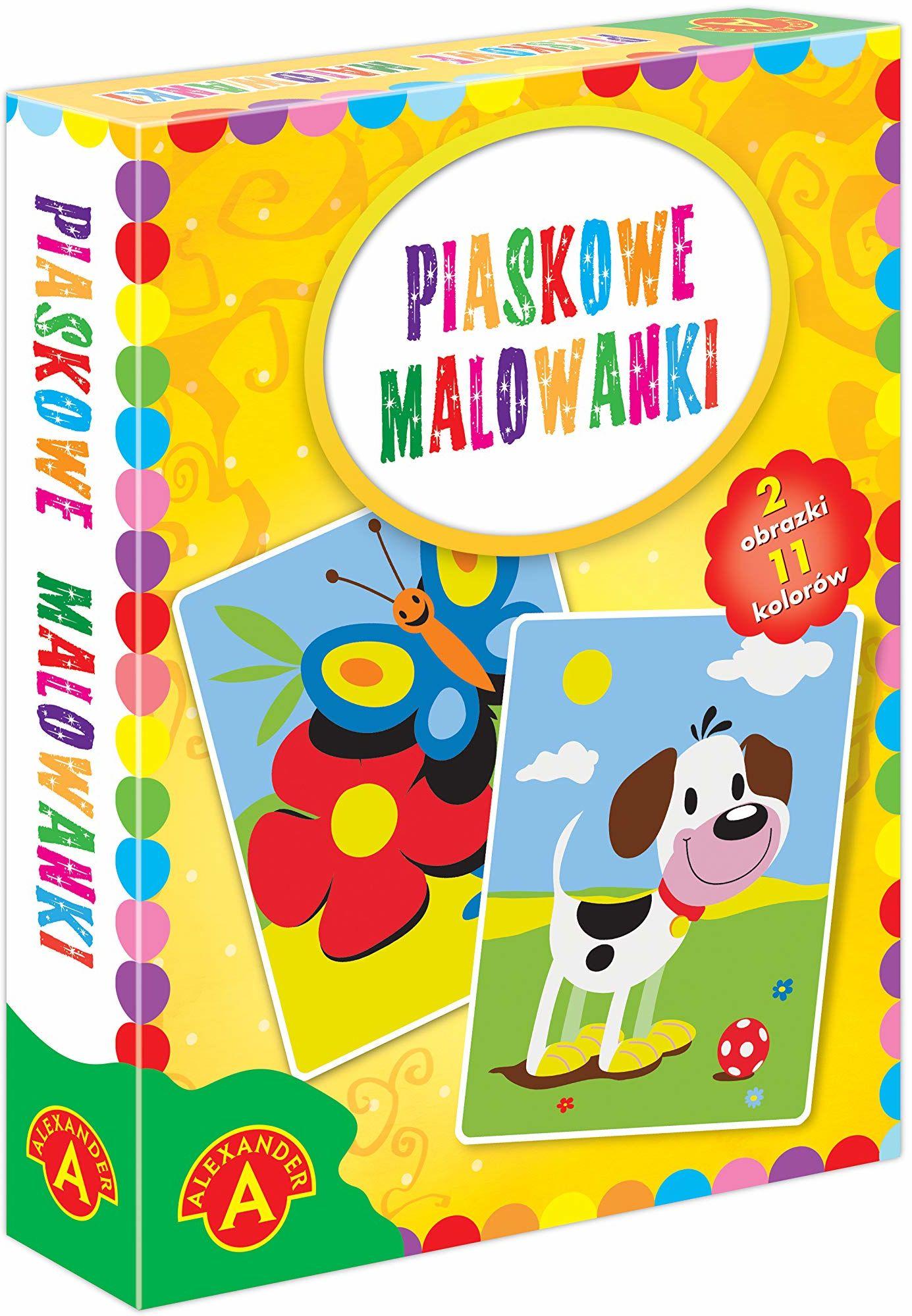 Z.P. Alexander 2466 Piaskowe Malowanki-Pies/Motyl