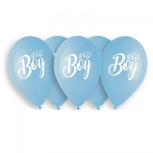 Balony Premium It''s a Boy, 5 szt.