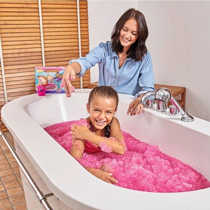 Simba - Glibbi Glitter Pachnąca masa żelkowa do wody Błyszczący Róż 5954684