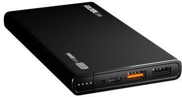 Powerbank GÖTZE & JENSEN Golden Line Power Delivery PBA10000KPD Czarny 10000 mAh 2xUSB USB-C szybkie ładowanie