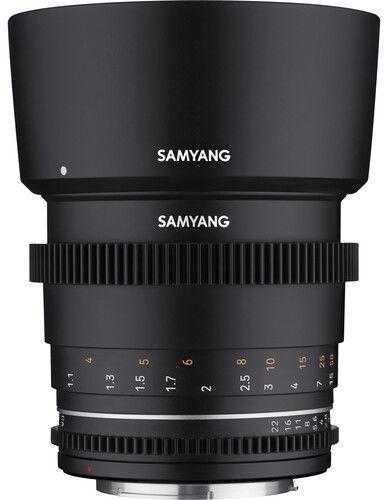 Samyang 85mm T1.5 VDSLR MK2 - obiektyw stałoogniskowy, Canon EF Samyang 85mm T1.5 VDSLR MK2, Canon EF