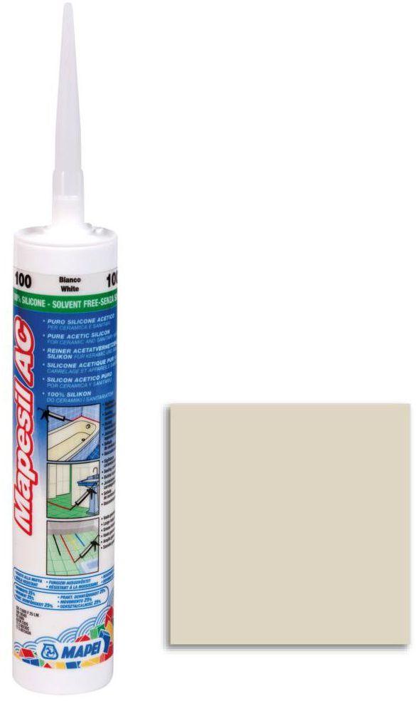 Silikon sanitarny MAPESIL AC 130 310 ml Jaśminowy MAPEI