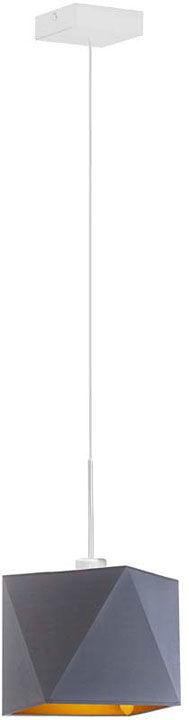 Lampa wisząca glamour na białym stelażu - EX417-Salles - 5 kolorów