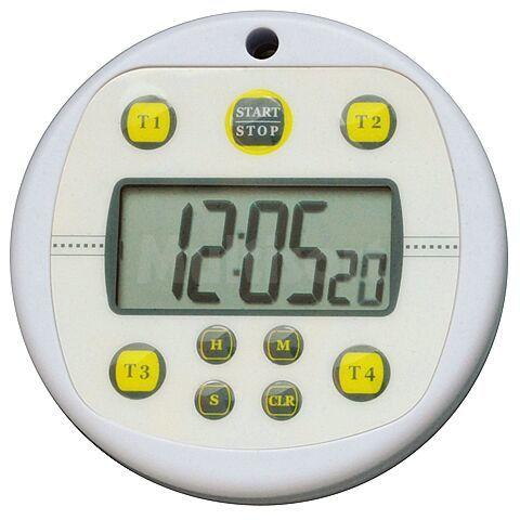 Wodoodporny minutnik 99h LCD z 4 pamięciami