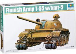 Trumpeter 00341 zestaw modelowy fiński czołg T-55 z przekładnią na wkład