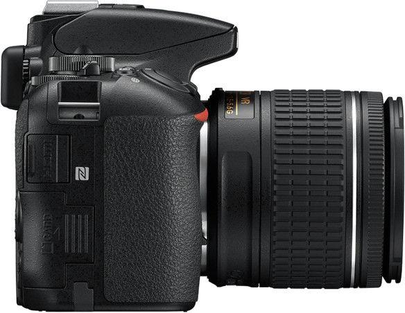 Nikon D5600+ AF-P DX 18-55mm F3.5-5.6G VR Czarny