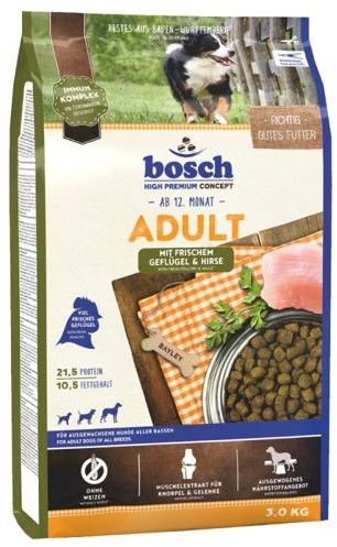 Bosch Adult Poultry & Millet, drób i proso (nowa receptura) 3kg
