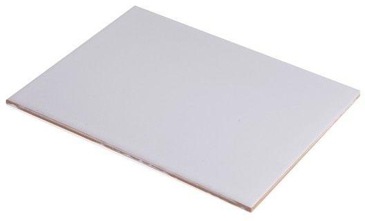 Glazura 20 x 25 cm biała
