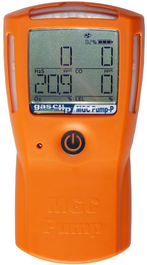MULTI GAS CLIP PUMP - detektor wielogazowy z wbudowaną pompką zasysającą
