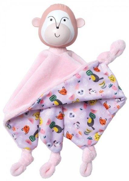Manhattan Toy - Doudou Kocyk Przytulanka i Gryzak Małpka Momo Manhattan Toy