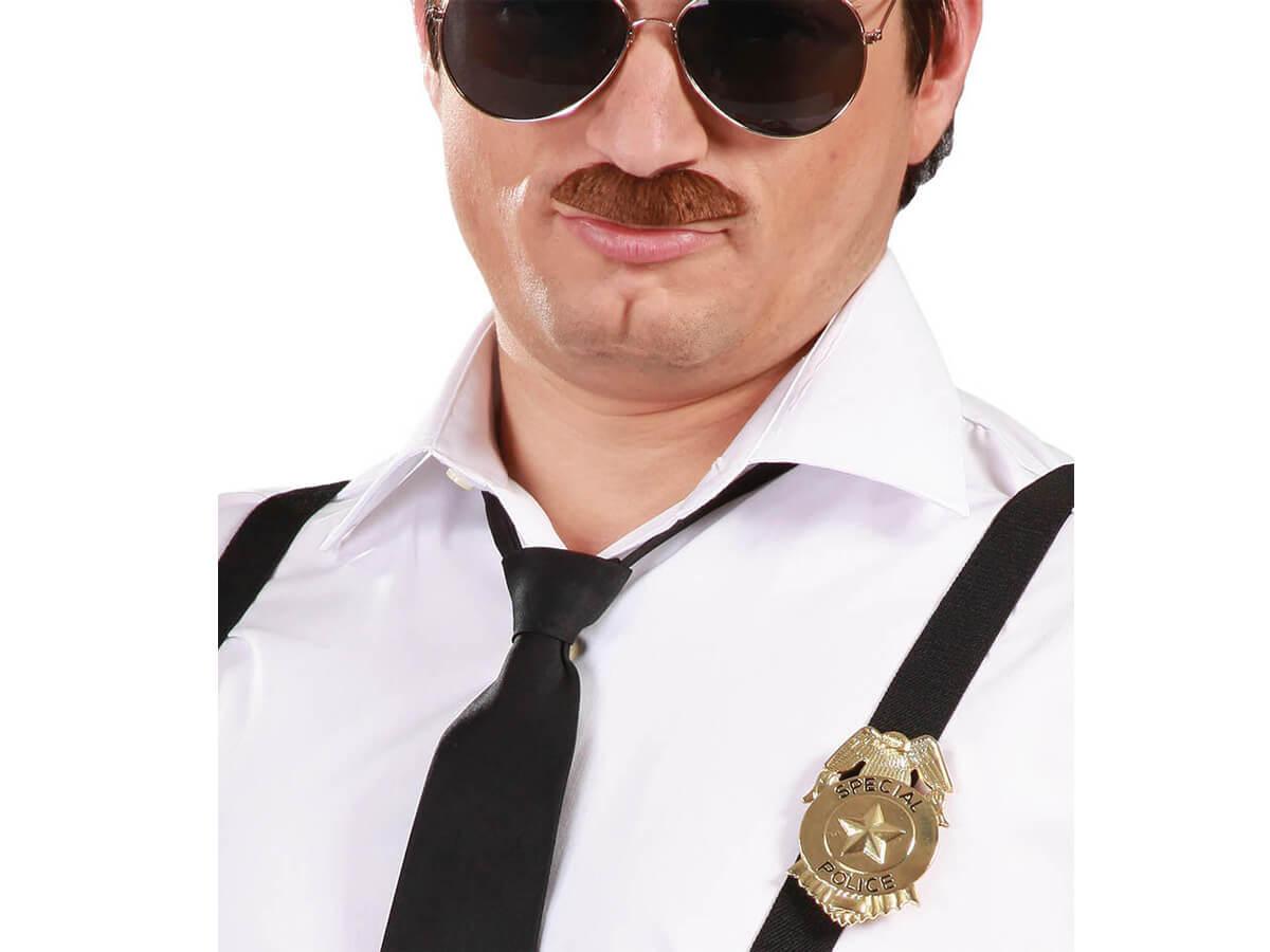 Odznaka policjanta złota - 1 szt.