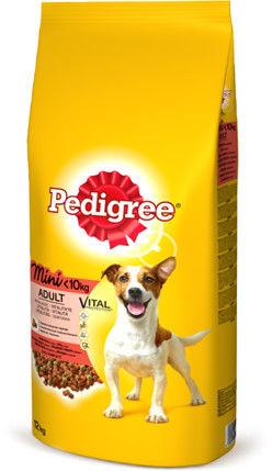 PEDIGREE Adult 2kg (małe rasy) - sucha karma dla psów z wołowiną i warzywami