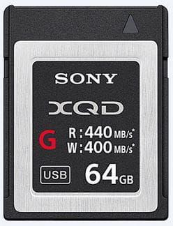 Sony XQD-G 64GB 440MB/s Karta Pamięci PL