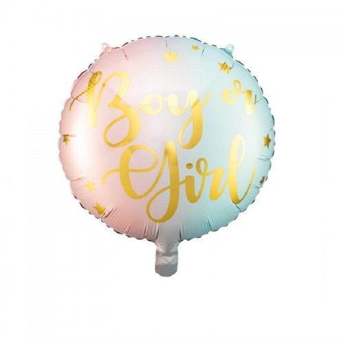 Balon foliowy Boy or Girl