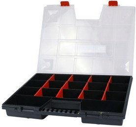 Organizer 18 przegródek, 65x390x490mm, Proline 35710