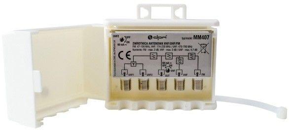 Zwrotnica antenowa DPM Solid MM407 VHF/UHF/FM