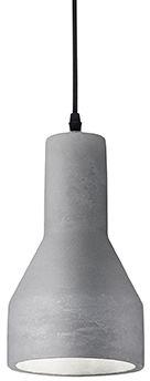 Lampa wisząca Oil-1 SP1 110417 Ideal Lux cementowa oprawa w stylu design