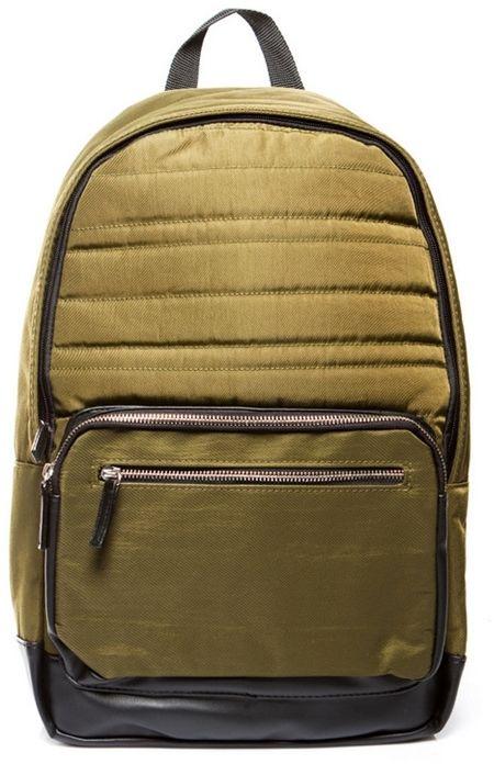 Miejski plecak oliwkowy vintage JET