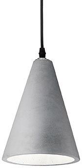 Lampa wisząca Oil-2 SP1 110424 Ideal Lux cementowa oprawa w stylu design