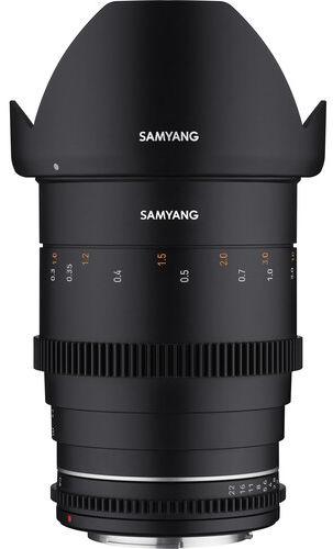 Samyang 35mm T1.5 VDSLR MK2 - obiektyw stałoogniskowy, Nikon F Samyang 35mm T1.5 VDSLR MK2, Nikon F