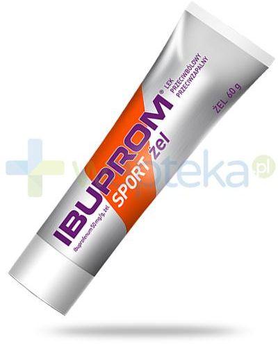 Ibuprom Sport 50mg/g żel przeciwbólowy i przeciwzapalny 60 g