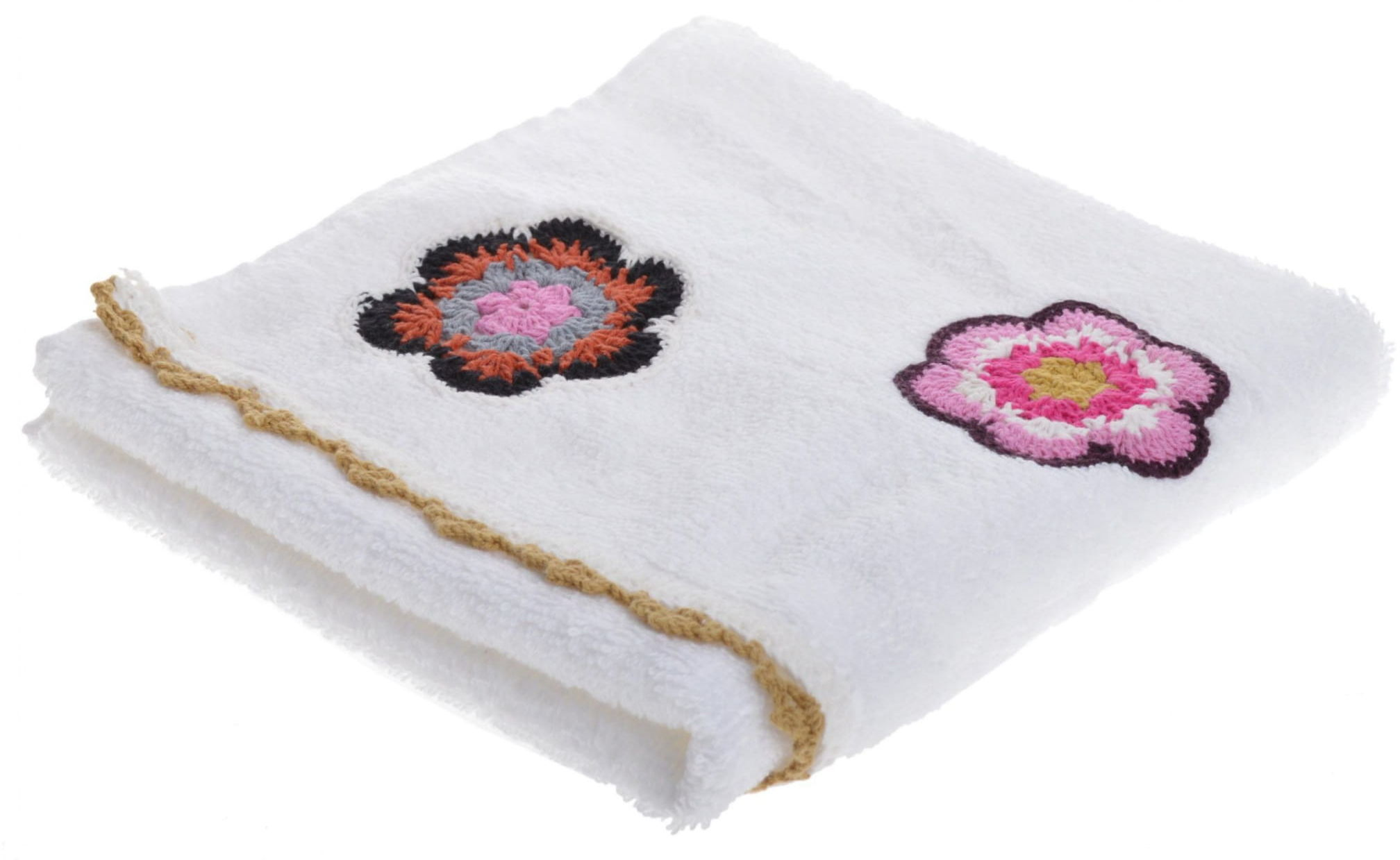 Bawełniany ręcznik mały ze wzorem