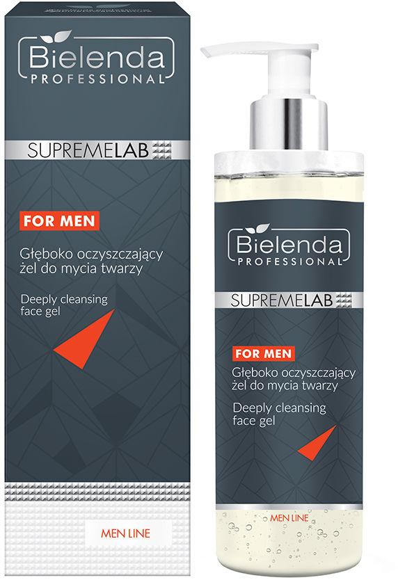 Bielenda Professional Supremelab for Men, żel oczyszczający do twarzy 200g