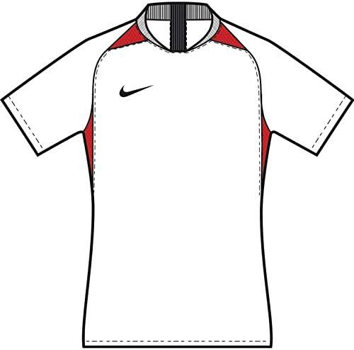 Nike uniseks koszulka legendowa dla dzieci S/S Jersey White/University Red/Black/Black S