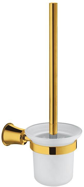 Omnires Art Line szczotka do Wc wisząca złota AL53620GL