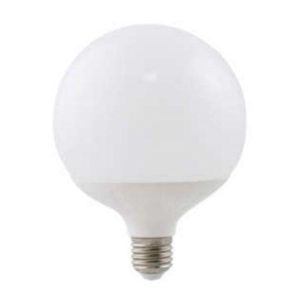 Żarówka LED E27 18W zimna 6400K kula G120