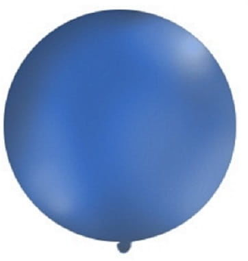 Balon Gigant 1m, granatowy pastel
