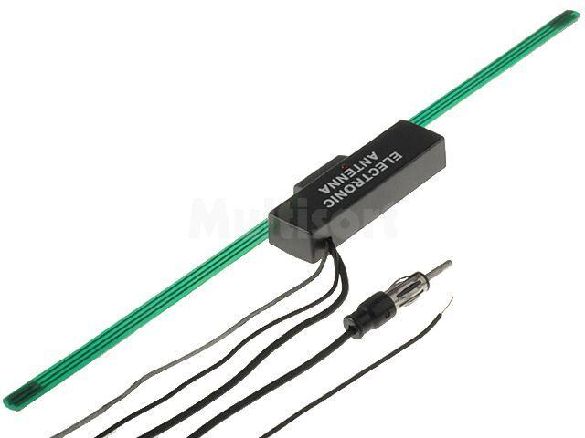 Antena samochodowa wewnętrzna ze wzmacniaczem Sunker W2