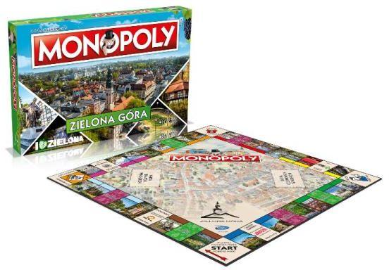 Monopoly Zielona Góra ZAKŁADKA DO KSIĄŻEK GRATIS DO KAŻDEGO ZAMÓWIENIA