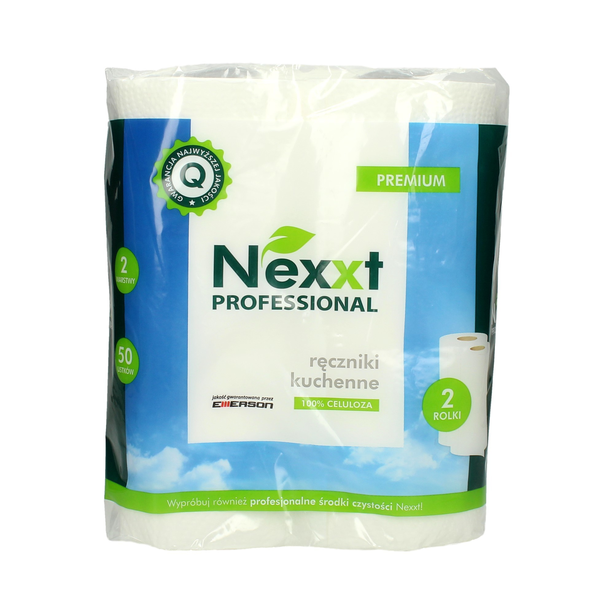 Ręcznik papierowy kuchenny 2w biały Nexxt - 2 szt. w op.