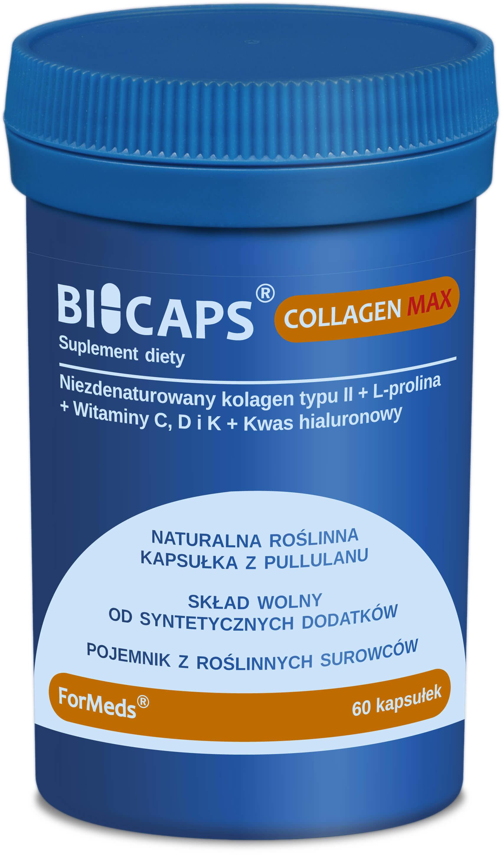 ForMeds Bicaps Collagen Max (Kolagen typu II) 60 Kapsułek roślinnych