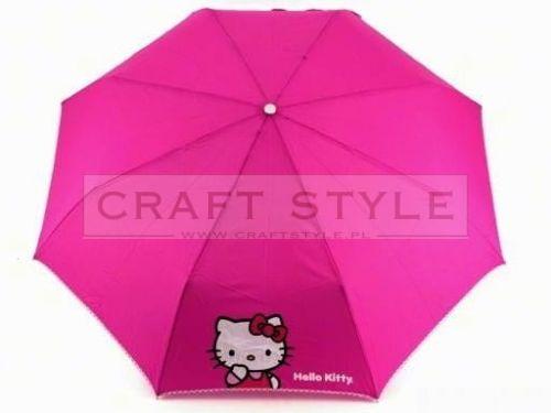 Parasol dziecięcy składany Hello Kitty