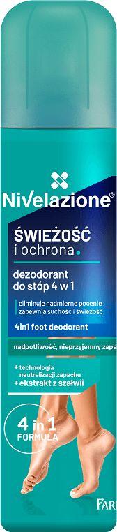 NIVELAZIONE Dezodorant do stóp 4w1 180ml