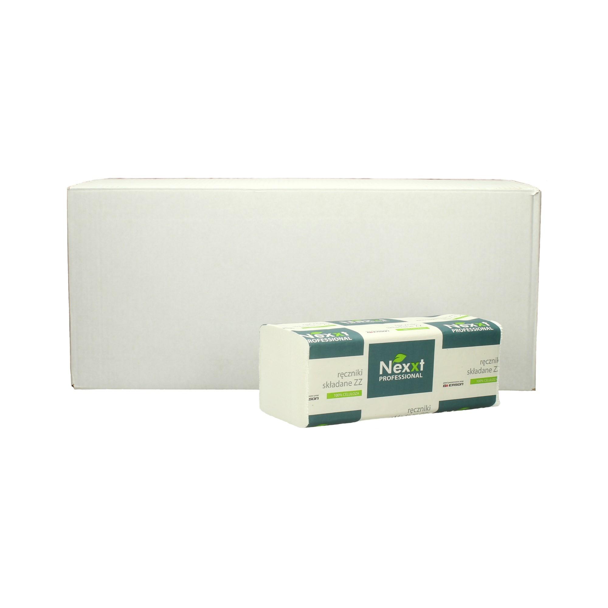 Ręcznik papierowy składka 2w biały celuloza Nexxt (3000)