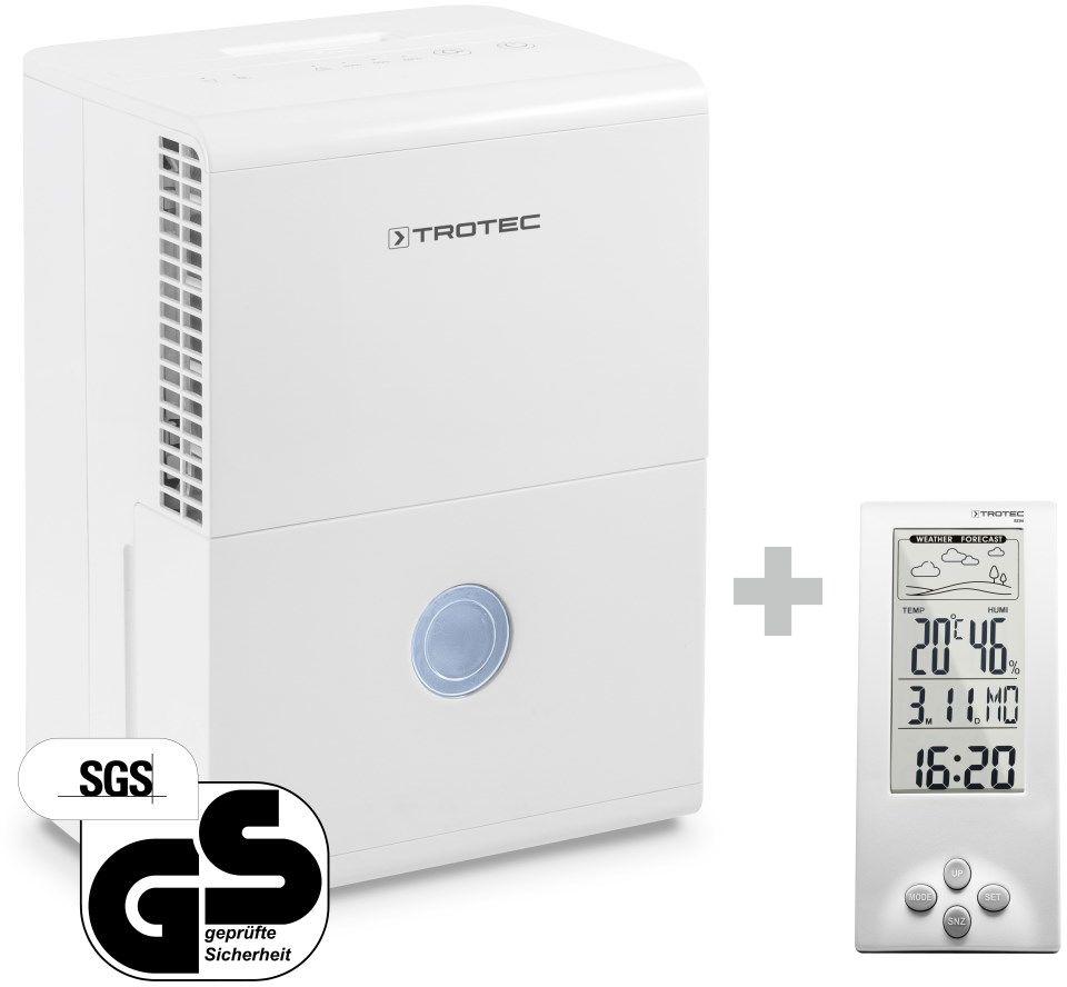 Osuszacz powietrza TTK 28 E + Termohigrometr stacja pogodowa BZ06