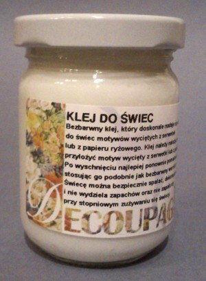 Klej do Świec do Decoupage Renesans 110 ml